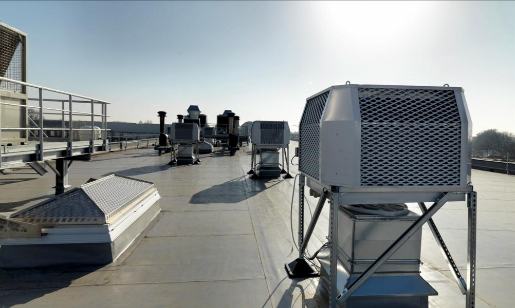 Sistemi raffrescamento aria in Industria Dolciaria