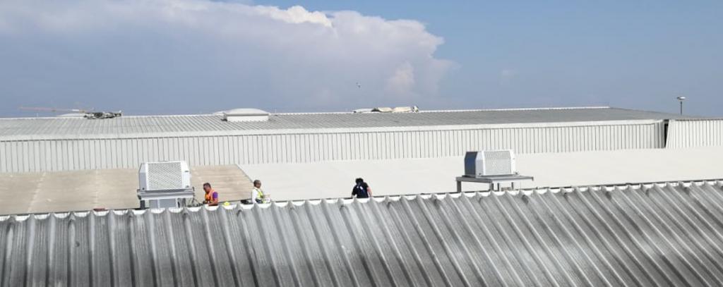 Sistemi raffrescamento aria presso industria