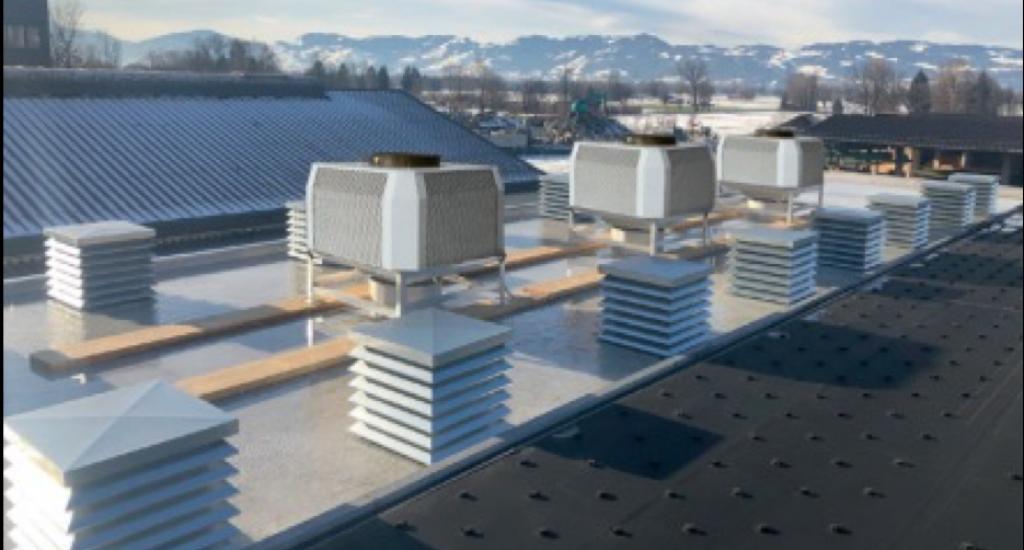 Sistemi raffrescamento aria in Data Center Austria