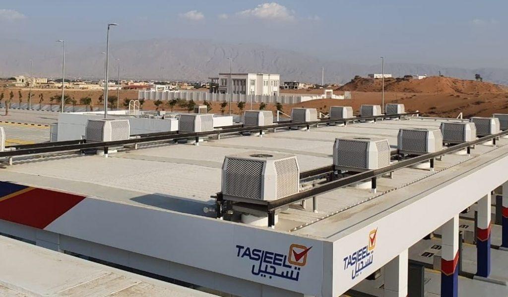macchiari su un tetto Sistemi raffrescamento aria